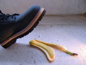 Banana on the floor