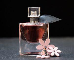 A perfume bottle.