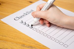 In order to boost your relocation budget, you should start with making a checklist!