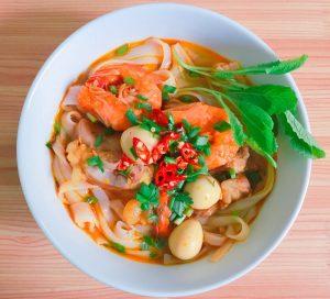 Vietnamese noodle dish