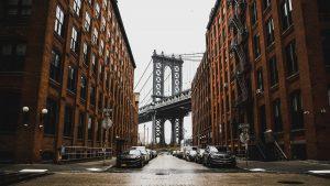 a bridge between buildings